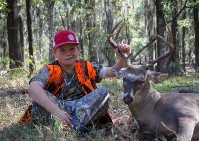 The Way It Was TV 2017 Louisiana Big Buck Youth Hunt 05